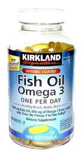 Dầu cá Fish oil omega 3 thuốc bổ
