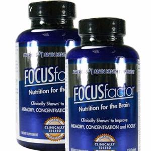 Viên uống Focus Factor giúp cải thiện trí nhớ